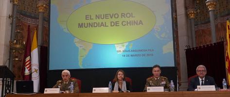 """""""El Mediterráneo en la geopolítica mundial"""", por Jesús Argumosa Pila, GD (R)"""