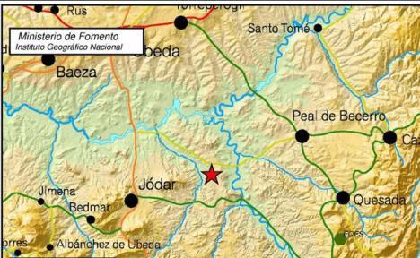 Terremoto en la provincia de Jaén