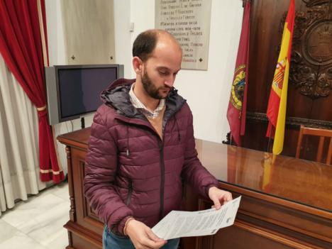 El Ayuntamiento de Lorca pide un reparto 'justo y equitativo' entre todos los municipios de los recursos sanitarios enviados por el Ministerio de Sanidad a la Región de Murcia