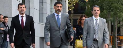 La jueza decide decretar Libertad sin fianza para el mayor de los Mossos Josep Lluis Trapero.