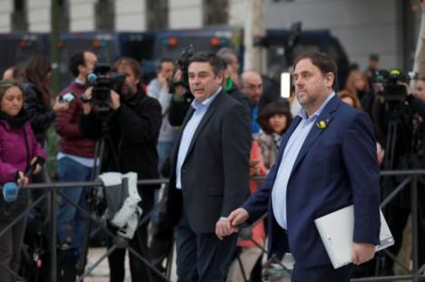 Junqueras exige diálogo a Rajoy