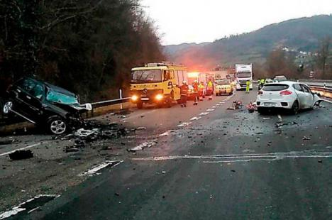 Muere un kamikace cuando conducía a 200 kms/h