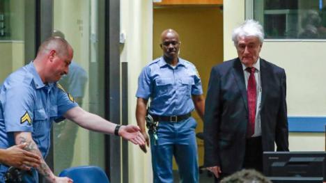Radovan Karadzic, el genocida serbobosnio condenado a cadena perpetua