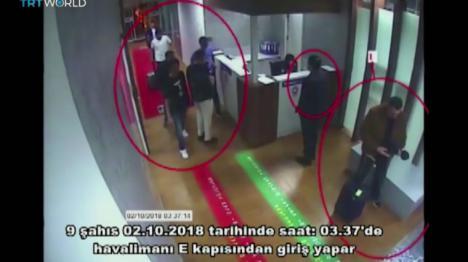 Las imágenes de un comando saudí de 15 agentes que llegaron a Estambul el día de la desaparición de Khashoggi ponen en un serio apuro a Arabia Saudí.