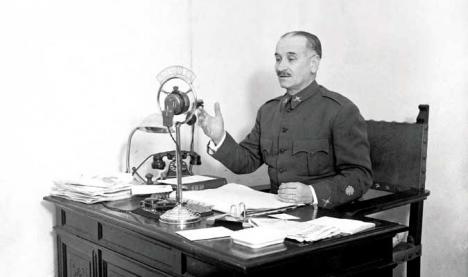 El terrorismo radiofónico de Franco