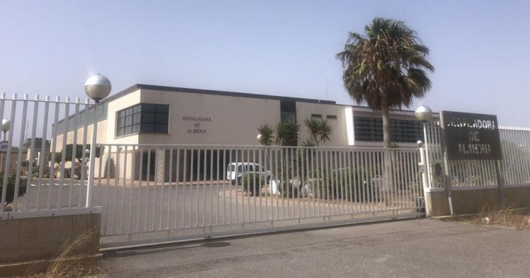 """La Mesa del Agua, """"satisfecha"""" después de que el grupo de trabajo del Ayuntamiento de Almería respalde su propuesta de ampliar la producción de la desaladora de la capital"""