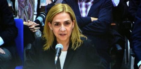 La infanta Cristina de enhorabuena, la justicia le devuelve los 322.000 euros de la fianza de Nóos
