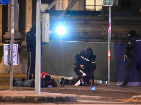 Cuatro muertos y más de quince heridos en los atentados en Viena
