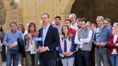 El Partido Popular se ofrece a EH Bildu para pactar en un pueblo de Álava