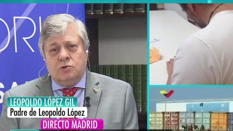 El PP ficha al padre del opositor venezolano Leopoldo López para sustituir a Garrido