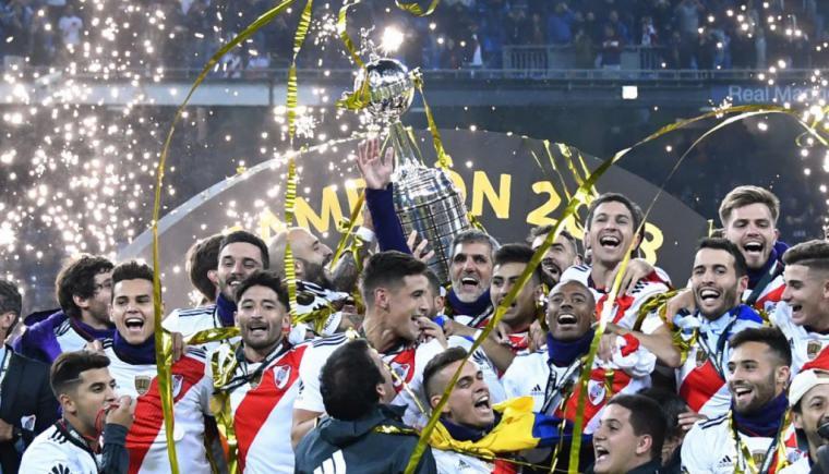 La copa Libertadores para River Plate