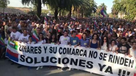 En Linares, Susana Díaz ni está ni se la espera