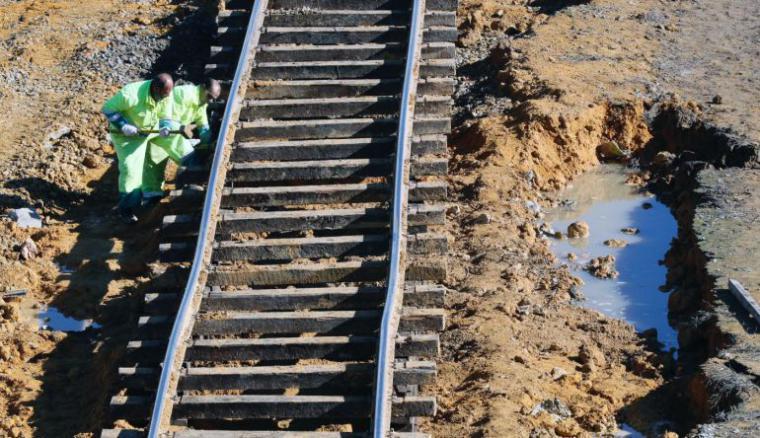 Reabierta la línea férrea Sevilla-Málaga