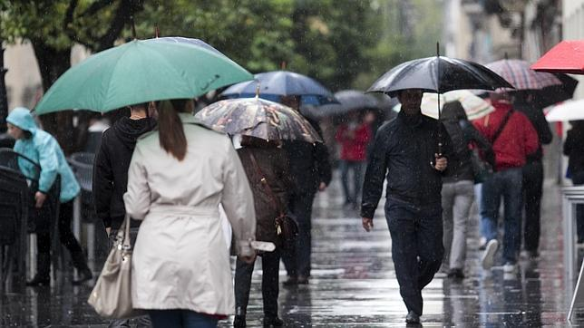 Precipitaciones generalizadas y persistentes, localmente fuertes, en el sureste peninsular y el oeste de Baleares