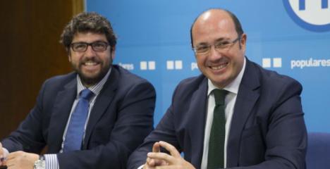 """Lucas: """"Aunque ahora vaya de centrista, López Miras ha mostrado su total disposición a pactar con Vox"""""""