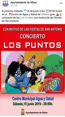 """A Francisco Torrecillas no le va lo de dar cuentas a la oposición: los gastos del concierto de """"los Puntos"""" para septiembre"""