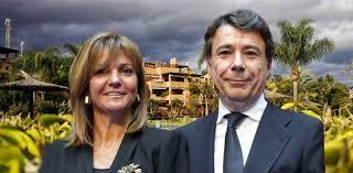 Lourdes Cavero, mujer de Ignacio Gonzalez guardaba en una caja fuerte relojes de lujo por valor de 100.000 euros