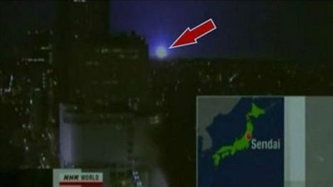 Los misteriosos destellos de luz que aparecieron en el cielo de México durante el terremoto