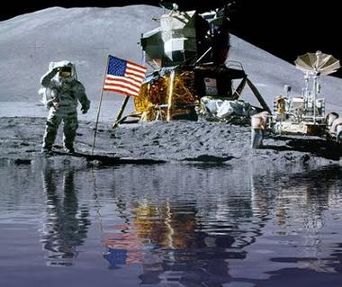 Descubren que hay agua en la luna