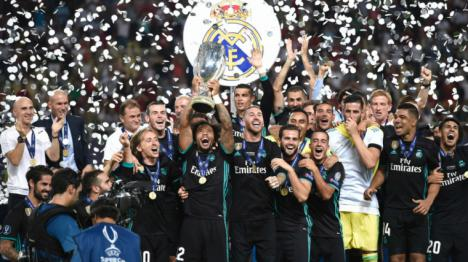 El Madrid se impone al Manchester