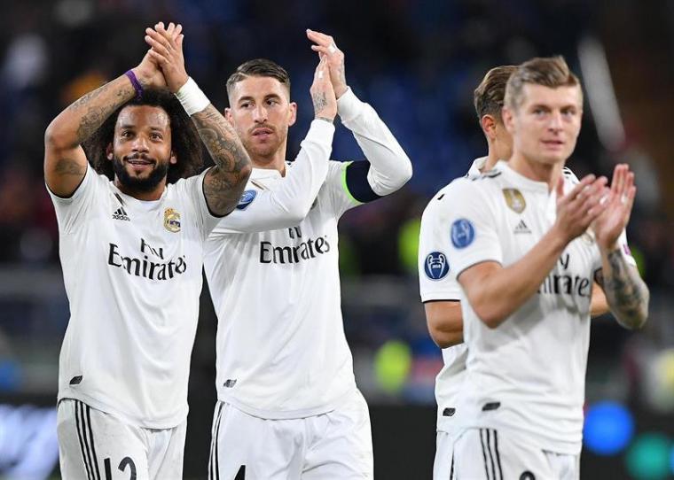El Madrid a octavos
