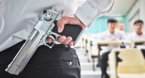 Los profesores de Florida podrán llevar armas a clase
