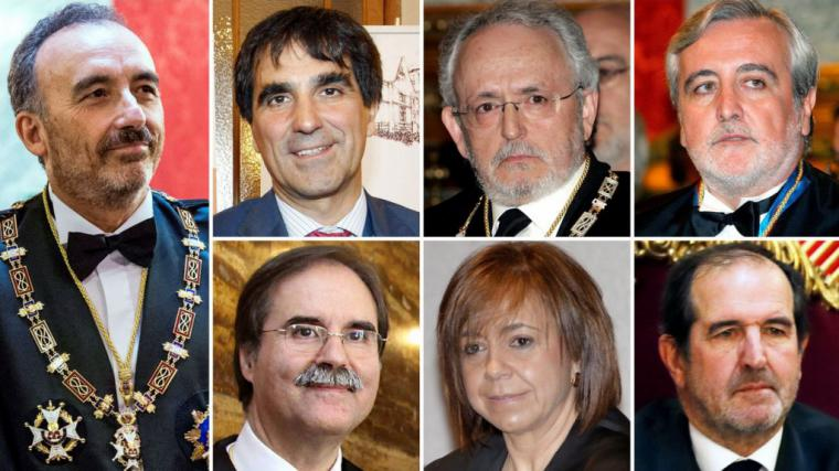 Arranca en el Tribunal Supremo el juicio contra los 12 políticos y líderes independentistas acusados de rebelión, sedición, malversación y desobediencia