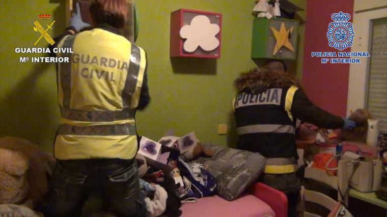 Policía y Guardia Civil desarticulan un clan criminal en Salamanca