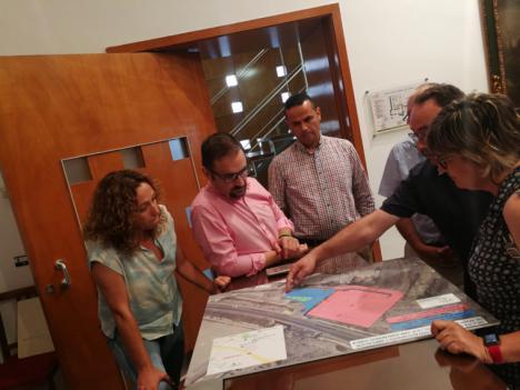 """Mejorarán los accesos para los autobuses al IES San Juan Bosco con el objetivo de """"garantizar la seguridad de los estudiantes"""""""