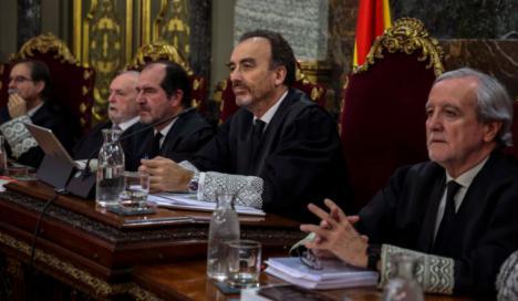 El Supremo no excarcelará a los líderes del 'procés'