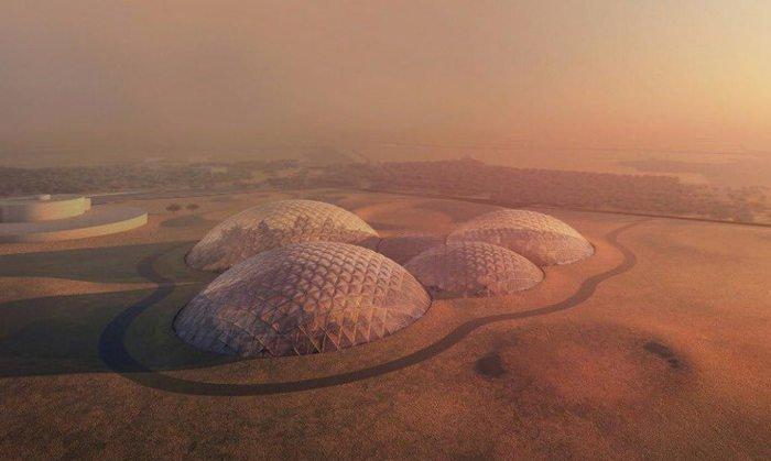 Resultado de imagen de El arquitecto de moda en la Tierra ya imagina la vida en Marte