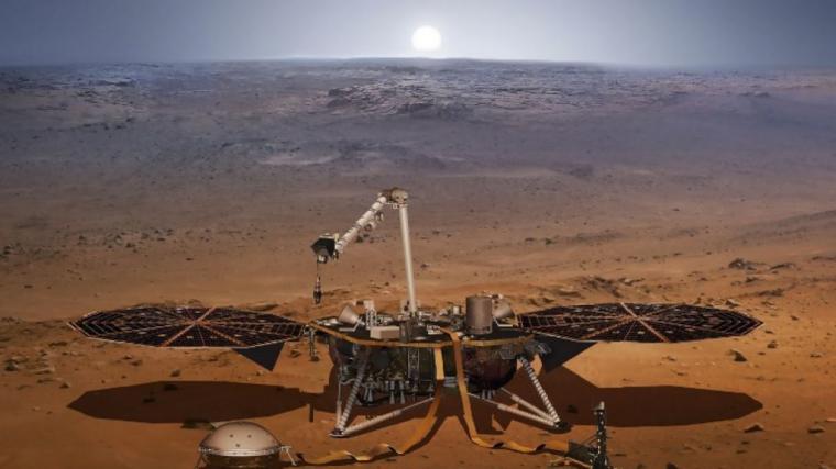 NO TE PIERDAS EL ATERRIZAJE EN MARTE DE LA MISIÓN MARS INSIGHT