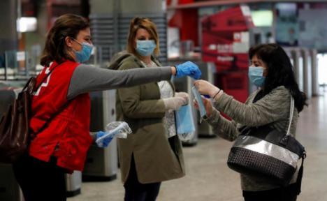 La Delegación del Gobierno en la Región de Murcia reparte 97.500 mascarillas entre CERMI, Cruz Roja y Cáritas