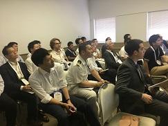 SAES muestra en Japón su tecnología basada en medición de firmas de buques