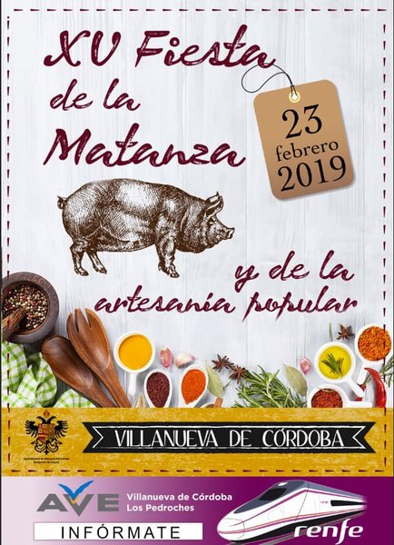 XV Fiesta de la Matanza y de la Artesanía Popular de Villanueva de Córdoba