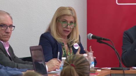"""Gloria Alarcón: """"El Gobierno regional y Javier Celdrán siguen manipulando la opinión pública"""""""