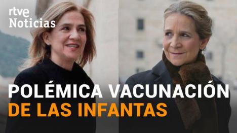 La vacunación de las infantas en Abu Dabi cuesta a los españoles 33.600 euros