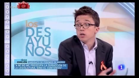 Iñigo Errejón pide que Podemos vote a favor de Sánchez y critica la mediación del Rey que pide Iglesias