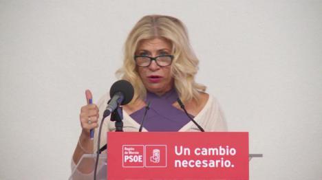 """Gloria Alarcón: """"El PSRM continúa dispuesto a trabajar por un acuerdo de reestructuración"""""""