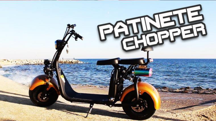 CityCoco, la moto- patinete eléctrica para adolescentes y adultos