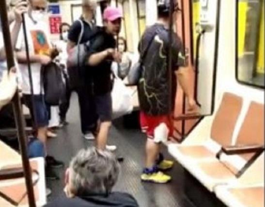 Se busca al hombre que ha dejado tuerto a un sanitario en el Metro de Madrid que le recriminó no llevar la mascarilla
