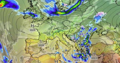 Un atípico ciclón tropical mediterráneo se acerca a Sicilia y Grecia