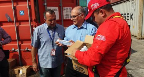 Ayer llegaron a Venezuela 933 toneladas de medicamentos procedentes de Rusia, China y Cuba