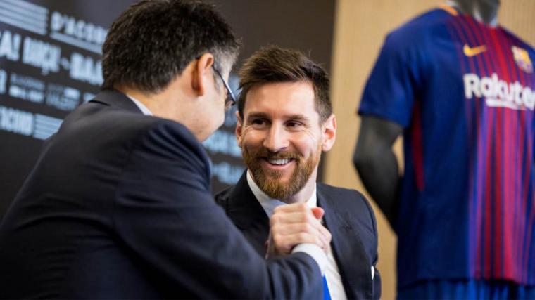 Messi impone una cláusula al Barça en caso de independencia