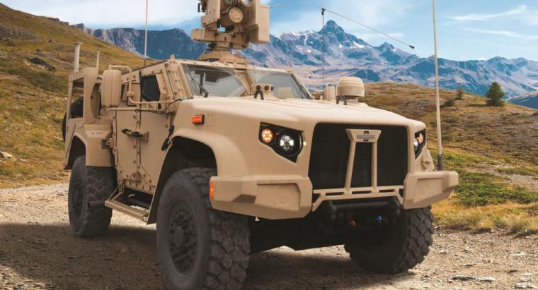 EEUU rechaza sus nuevos autos de combate Oshkosh