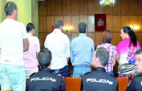 El fiscal solicita más 4 años de cárcel para 7 miembros de
