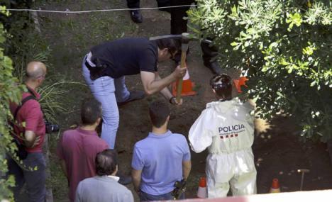 El exnovio de Mònica Borràs, Jaume Badiella, informático de 54 años, confesó el crimen en el momento en que los Mossos y la comitiva judicial se disponían a buscar el cuerpo enterrado mediante un georradar