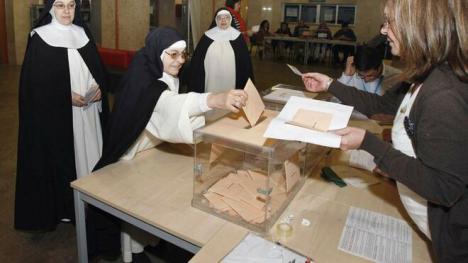 Las monjas franquistas de Santa Teresa