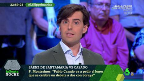 El periodista Pablo Montesinos encabezará la lista del PP por Málaga