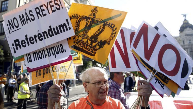Pamplona otra ciudad mas que pide la abolición de la monarquía